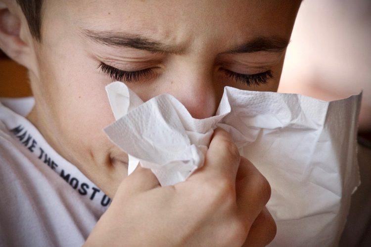 allergic reaction boy