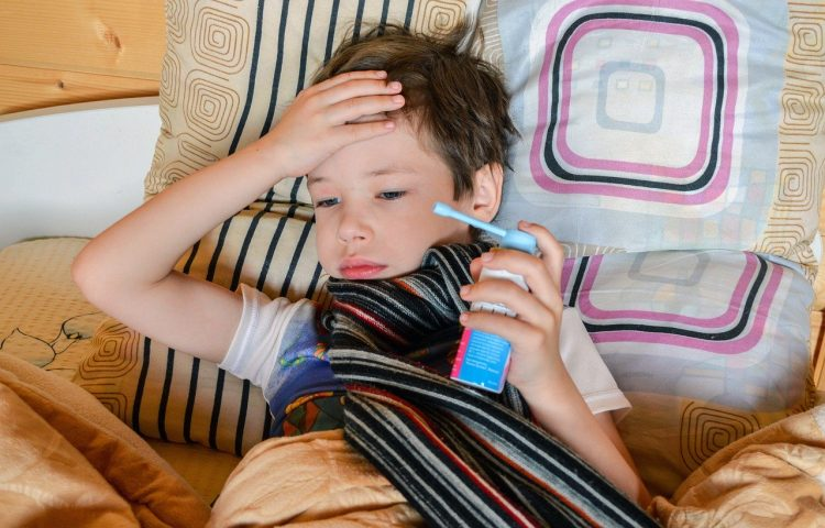 asthmatic boy bed